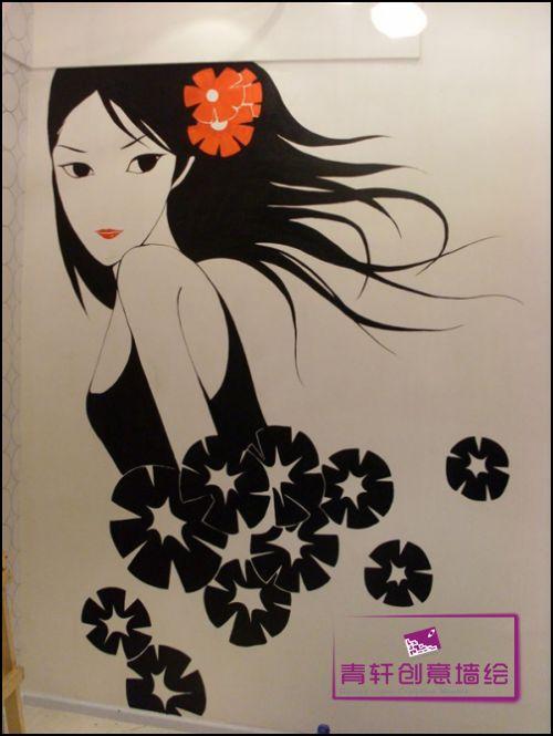 长沙墙绘-卡通时尚01类-长沙墙绘,长沙手绘墙,长沙,,.