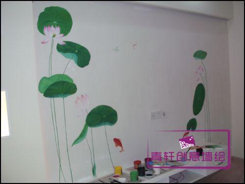 电视机背景墙,长沙墙画 手绘墙画 墙画价格 墙画素材 专业墙绘