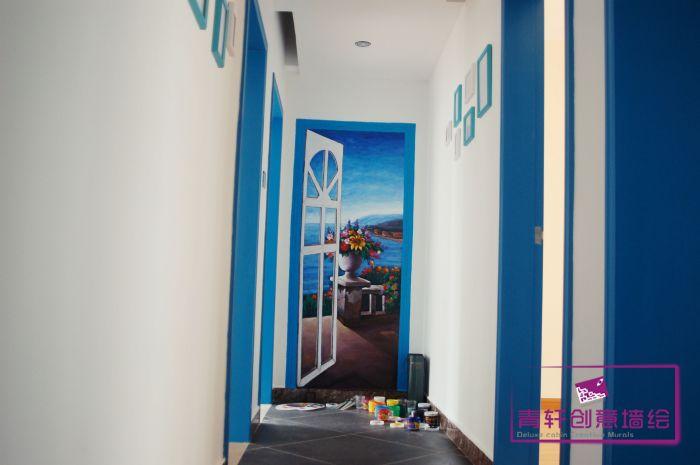 设计风格类型:写实风景-地中海风格