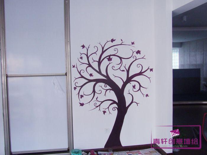长沙东塘西 宁总 办公室墙绘--长沙墙绘,长沙手绘墙,.