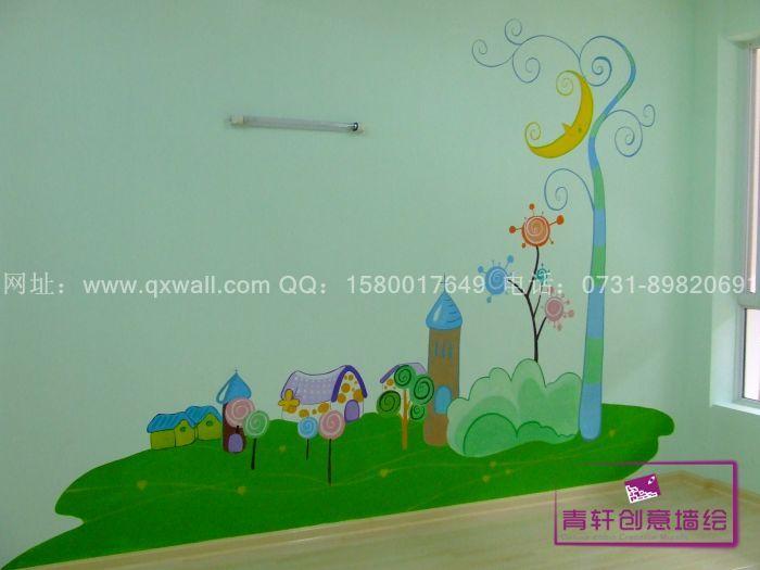 幼儿寝室墙壁手工制作