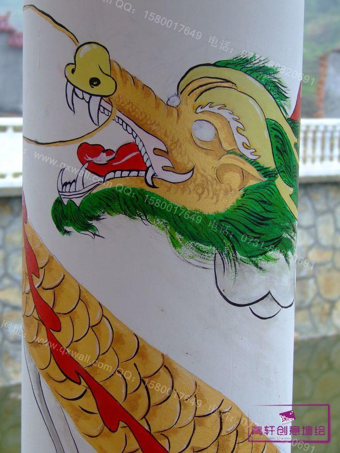 长沙古建筑彩绘壁画案例