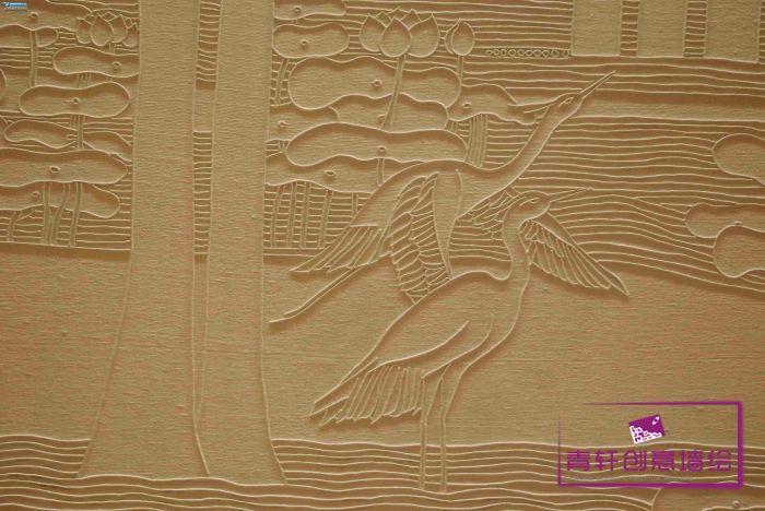 纸绳粘贴画的制作过程展示图片
