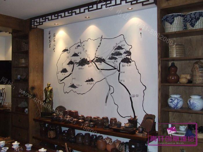 手绘墙画  墙画价格 墙画素材 专业墙绘  墙绘图片 青轩墙绘,长沙