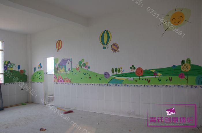 园室内壁画--长沙墙绘