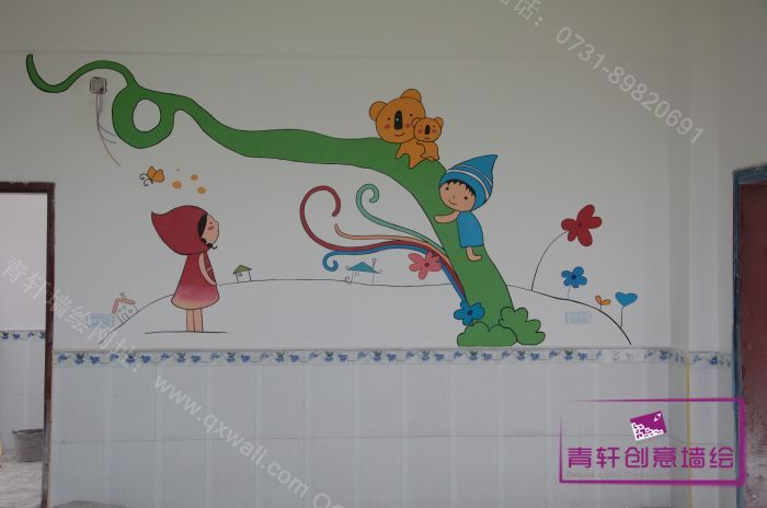 室内壁画--长沙墙绘