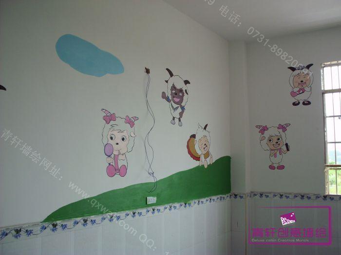 江西修水上衫中心幼儿园室内壁画