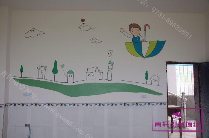 幼儿园室内 透视图