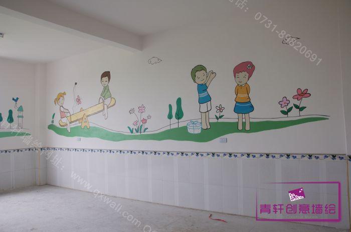 江西修水上衫中心幼儿园室内壁画--长沙墙绘,长沙手绘