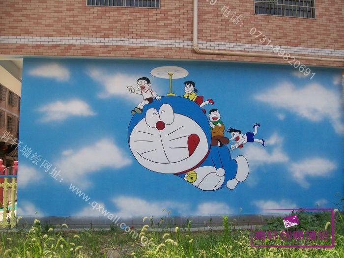 """星沙小叮当科艺幼儿园墙绘壁画; """"手绘墙画""""走俏太原 家装又有新"""