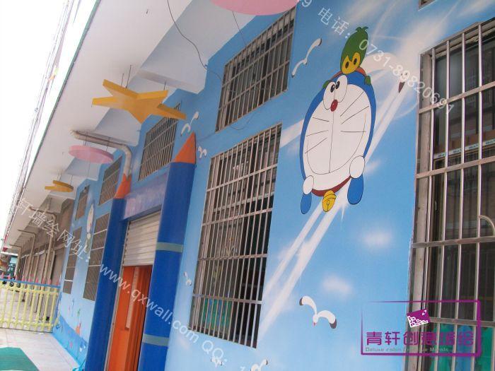 星沙小叮当科艺幼儿园墙绘壁画