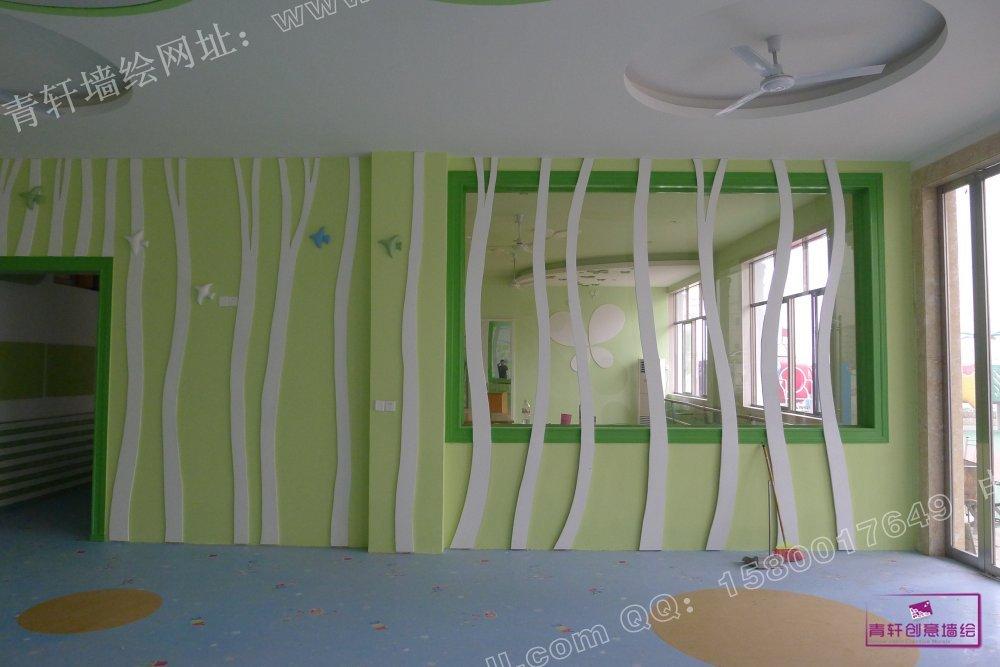 香港红杉树国际幼儿园外墙壁画--长沙墙绘