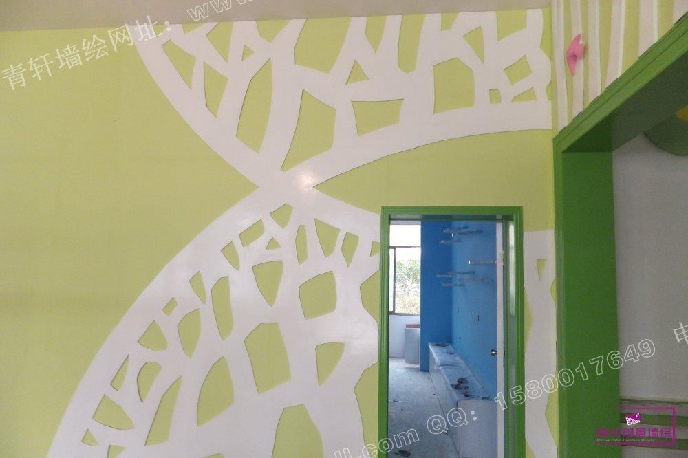 香港红杉树国际幼儿园外墙壁画 | 幼儿园壁画 | 青轩