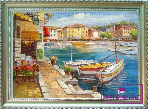 地中海风格挂画贴图素材分享展示