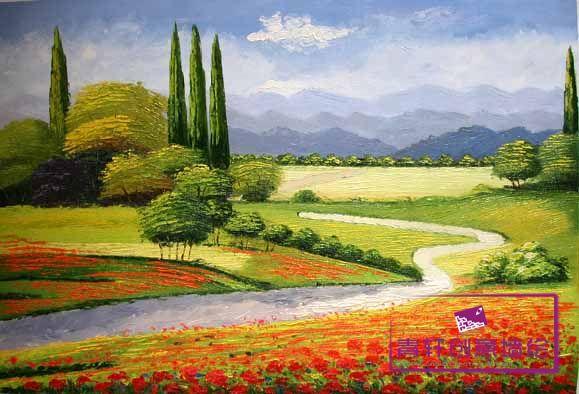 房子效果图_手绘的田园风陈设品_田园风格墙面手绘图_田园风手绘图片
