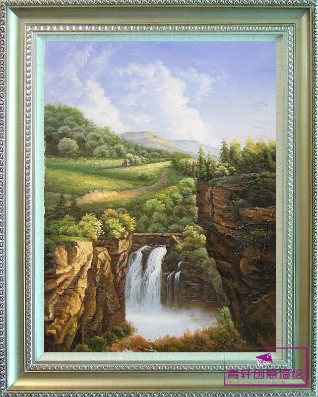 森林山水(28张)--长沙墙绘,长沙手绘墙,长沙墙绘公司