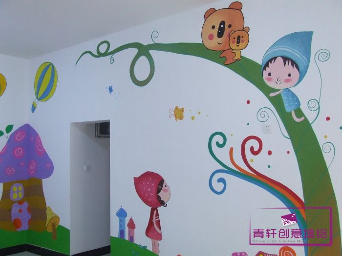 幼儿园壁画-长沙墙绘,长沙手绘墙,长沙壁画,长沙墙绘.