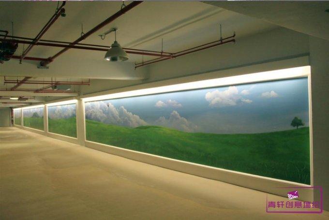 一道美丽的风景画--长沙墙绘