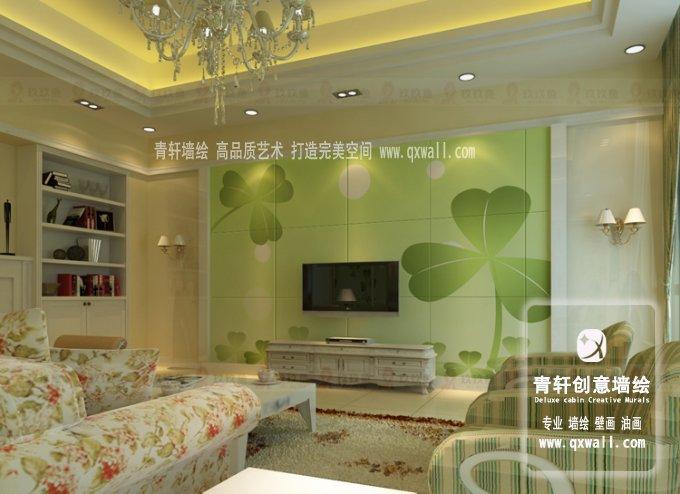 电视 墙砖  家装建材  田园; 艺术瓷砖电视背景墙; 时尚简约的欧式