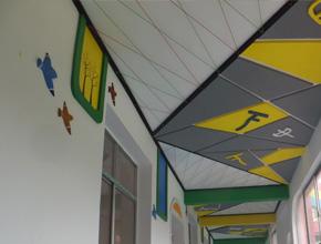常德西洞庭幼儿园壁画装饰