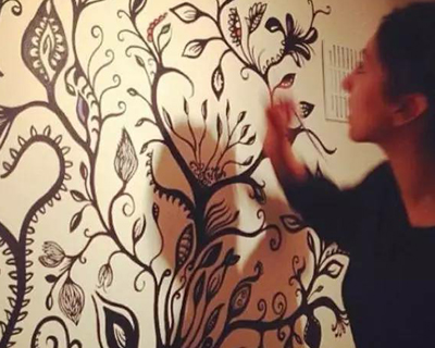 手绘墙画素材 手绘墙画价格