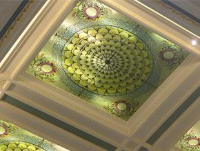 天恒酒店天顶壁画