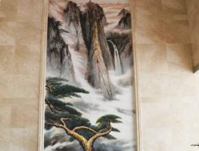 长沙天宇酒店大型山水壁画