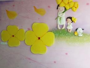 长沙望城幼儿园壁画浮雕