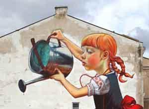 国外震撼的墙绘作品
