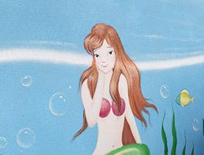 湘潭城市海景水上乐园墙绘