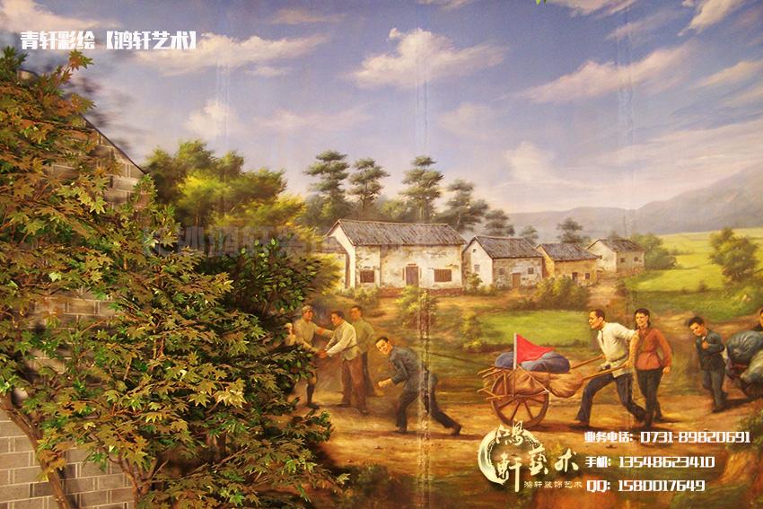 全景壁画组图