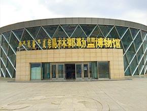 锡林郭勒博物馆壁画及全景画