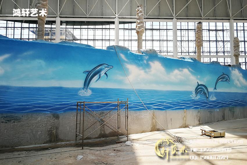 海洋馆彩绘
