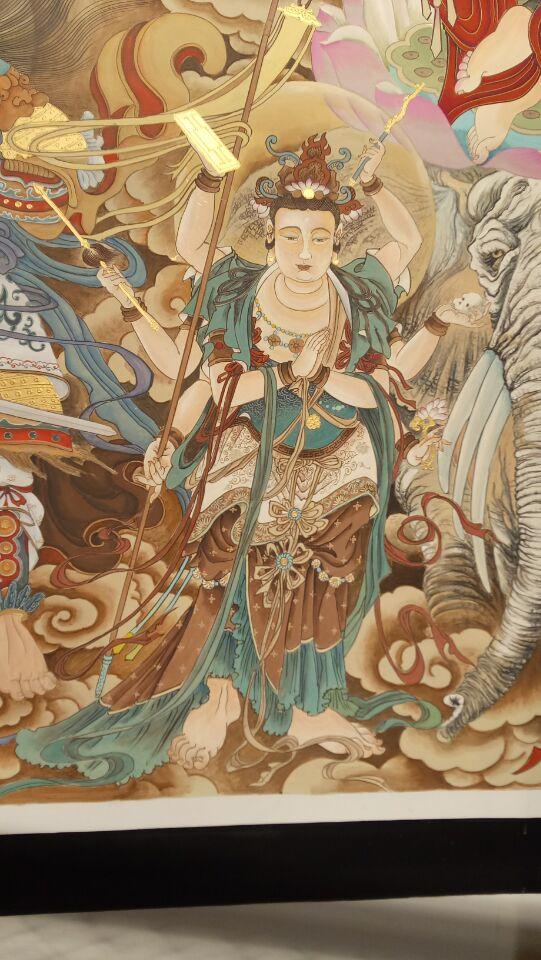 佛教故事壁画
