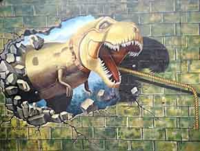 恐龙危机3D立体画