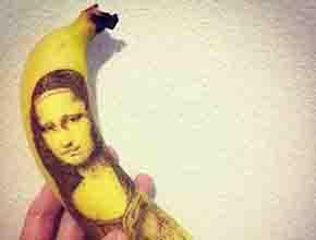 长沙墙绘~香蕉篇