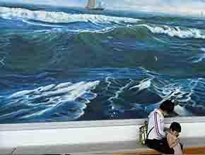 墙绘及壁画的墙面处理方式