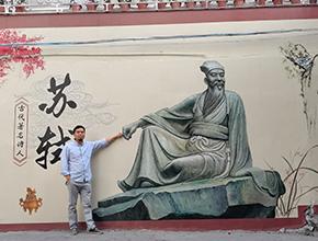 惠州写实雕塑壁画
