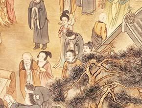 洛阳应天门 壁画